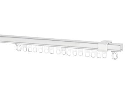 Rail de rideau AVR55 250cm acier