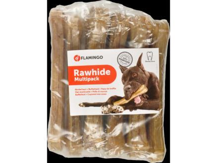Flamingo Rawhide Multipack hondensnack buffel 16cm 100g 6 stuks