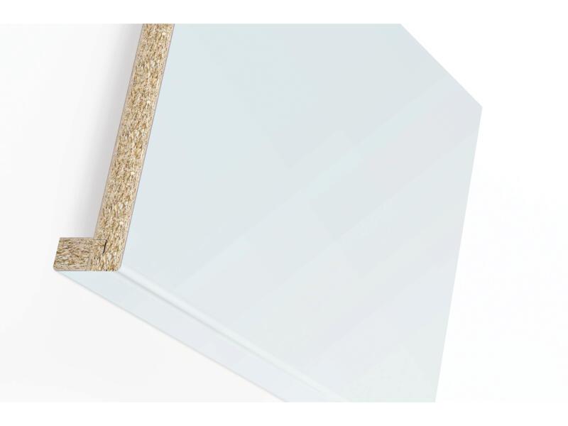 Rebord de fenêtre 305x25x3,8 cm grey clear