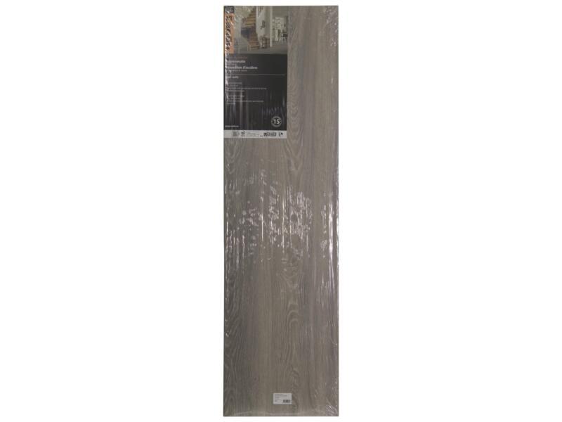 CanDo Recouvrement de marche 130x38 cm chêne kahlua