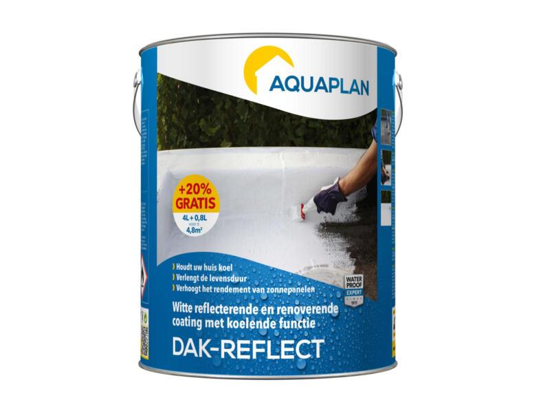 Aquaplan Reflect-toiture peinture toiture 4l + 0,8l gratuit