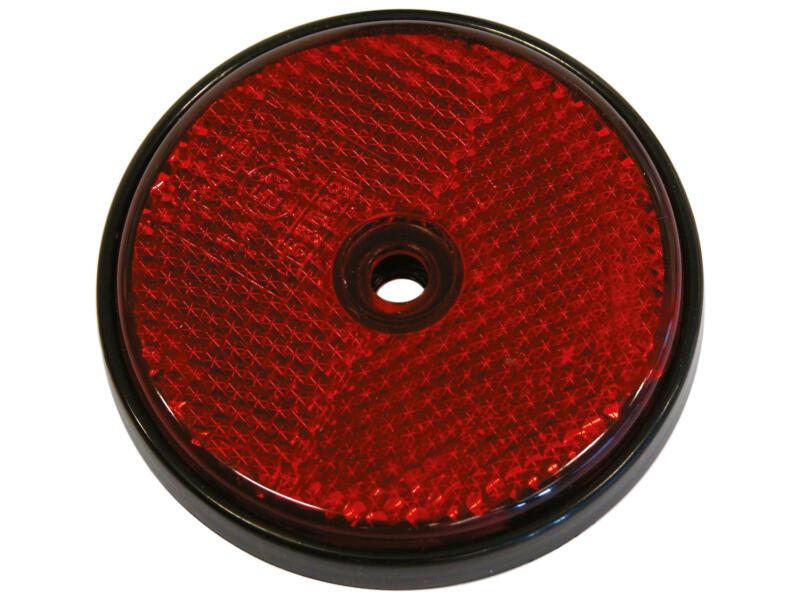 Carpoint Reflector rond 70mm 2 stuks rood