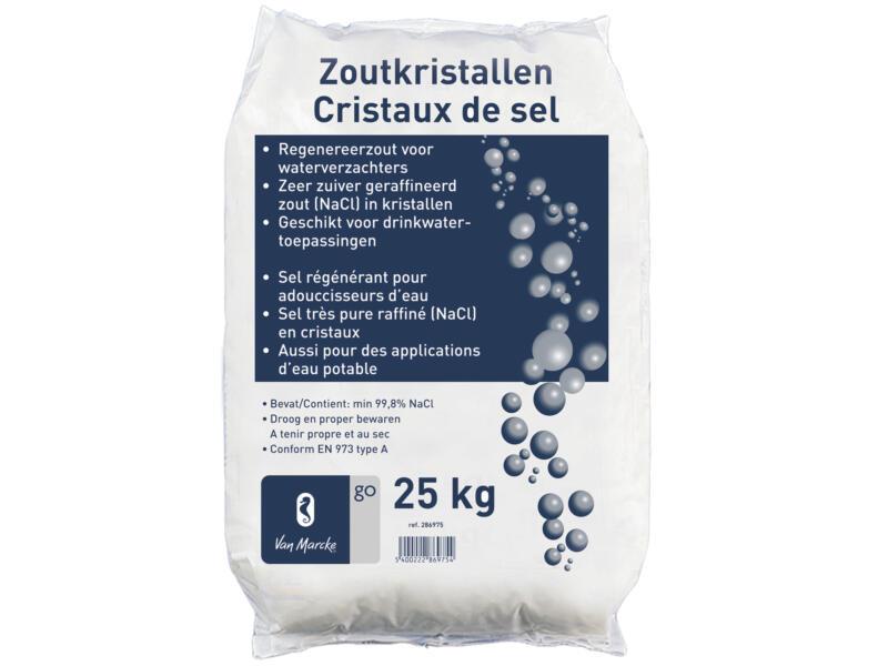 Van Marcke go Regenereerzout voor waterverzachters 25kg