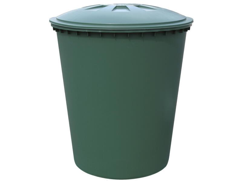 Regenton conisch model 310l groen