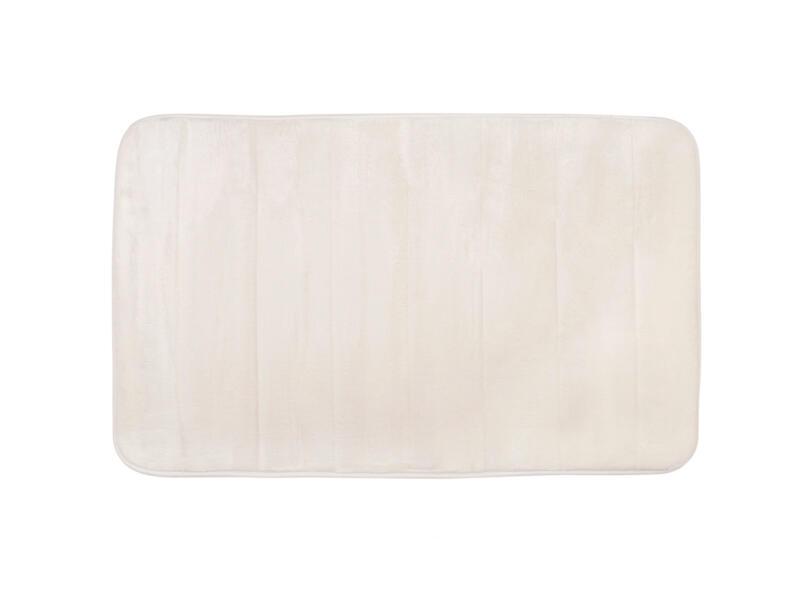 Differnz Relax badmat 60x40 cm gebroken wit