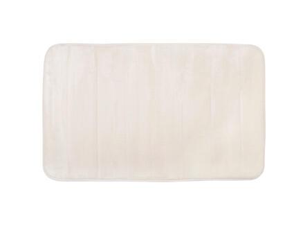 Differnz Relax tapis de bain 60x40 cm blanc cassé