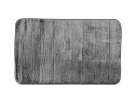 Differnz Relax tapis de bain 60x40 cm gris