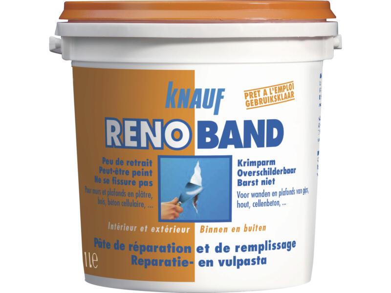 Knauf Renoband reparatie- en vulmiddel 1l wit