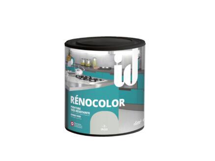 Rénocolor peinture rénovation bois et MDF 0,45l inox
