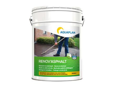 Aquaplan Renov' Asphalt rénovateur d'asphalte 20kg