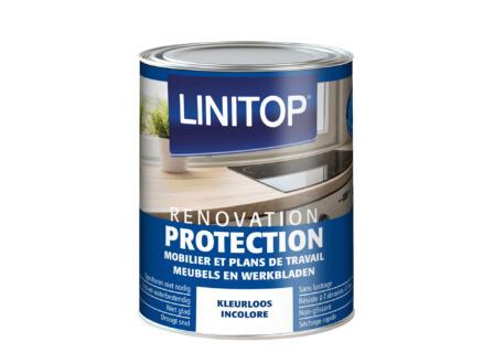 Linitop Renovation Protection vernis meubels & werkbladen mat 0,5l kleurloos