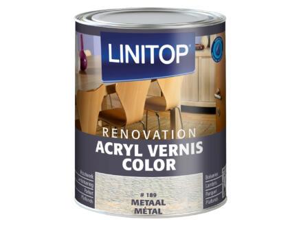 Linitop Renovation vernis acryl zijdeglans 0,75l metaal #189
