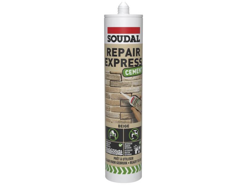 Soudal Repair Express Ciment réparateur ciment 290ml beige