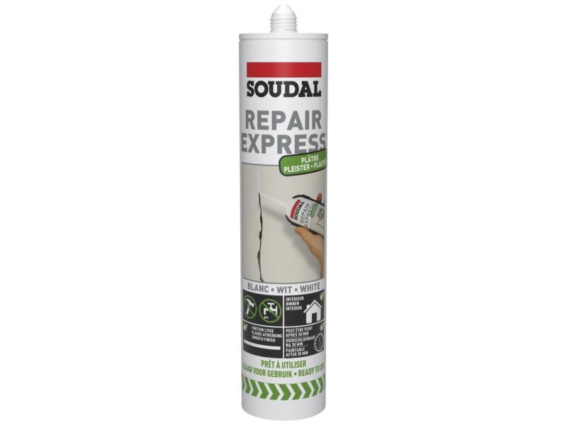 Soudal Repair Express plâtre 290ml blanc