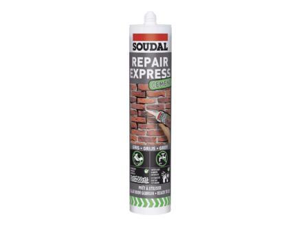 Soudal Repair Express reboucheur ciment 300ml gris