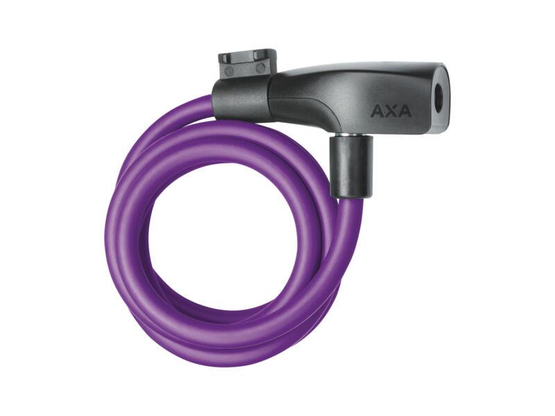 Axa Resolute kabelslot 8mm 120cm paars
