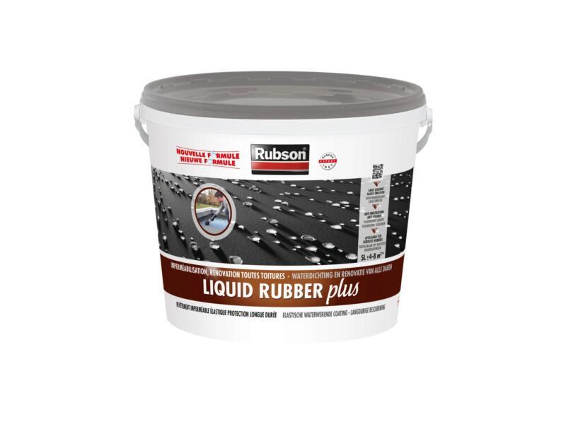 Rubson Revêtement en caoutchouc Liquid Rubber Plus 5l gris