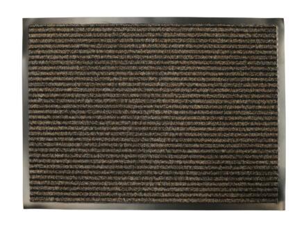 Ribmat 60x80 cm beige