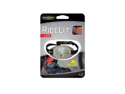 Nite Ize RideLit LED lamp fiets voor been/arm rood