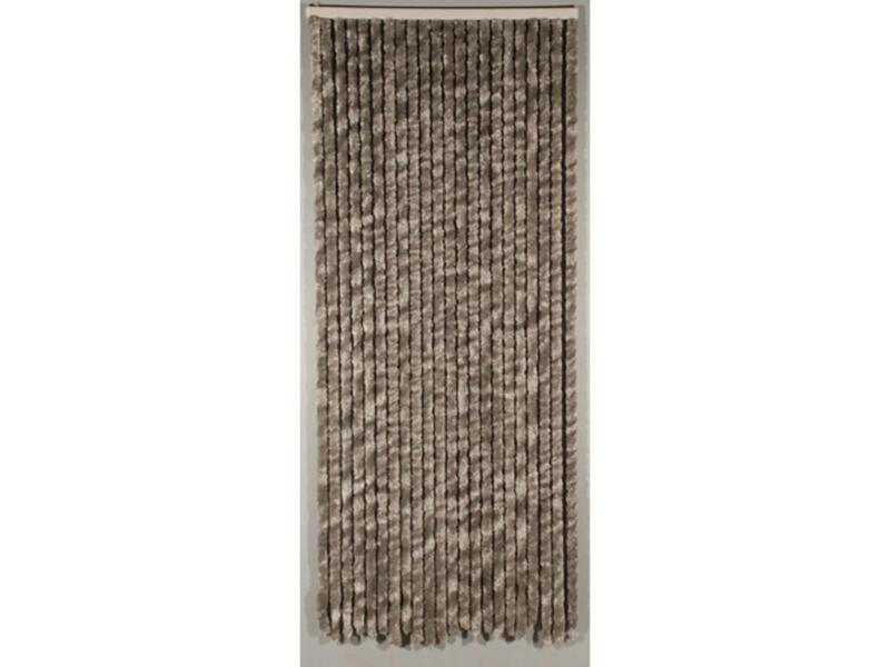 Confortex Rideau de porte Castor 90x205 cm gris