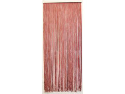Confortex Rideau de porte Lasso 90x200 cm bordeaux