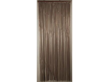 Confortex Rideau de porte Lumina 90x200 cm brun