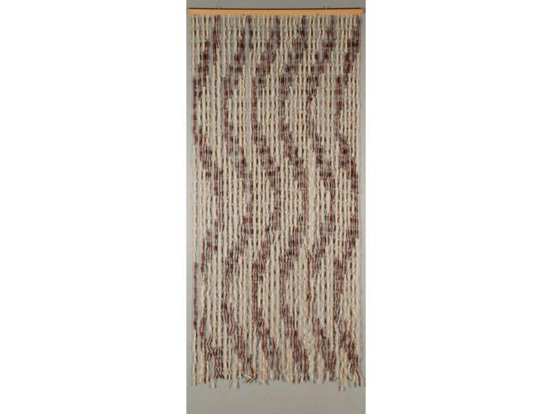 Confortex Rideau de porte Spiral 90x200 cm naturel
