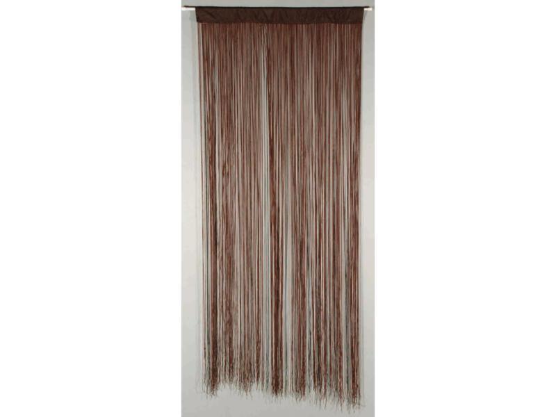 Confortex Rideau de porte String 90x200 cm brun