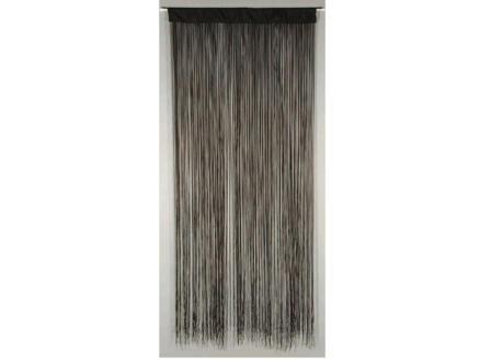 Confortex Rideau de porte String 90x200 cm noir