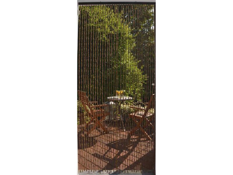 Confortex Rideau de porte Yaounde 90x200 cm brun