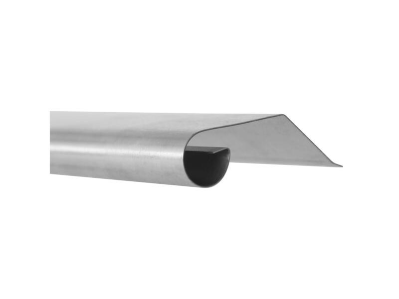 Rive de toiture A1 100cm zinc