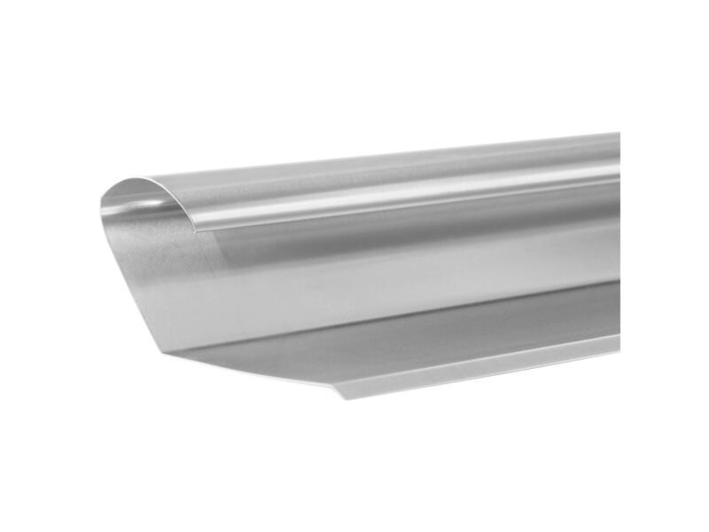 Rive de toiture A3 100cm zinc