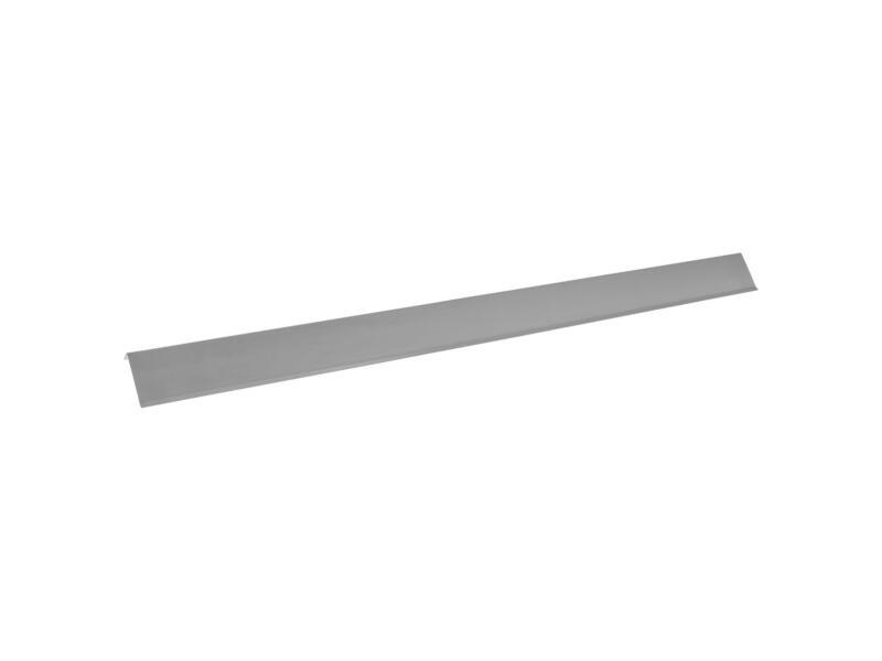 Rive de toiture E 100cm zinc