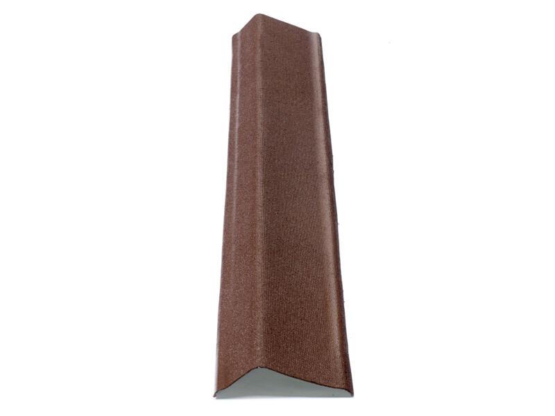 Onduline Rive de toiture mince 104cm brun