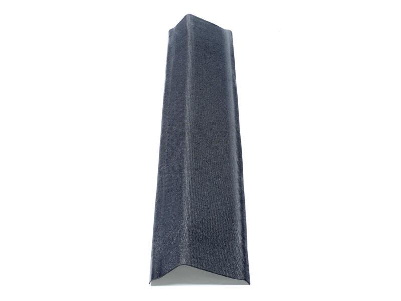 Onduline Rive de toiture mince 104cm noir