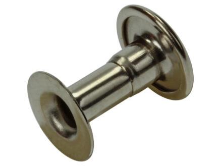 Sam Rivet 4,2x12 mm laiton 5 pièces