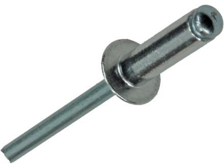 Rapid Rivet aveugle 4,8x16 mm aluminium 50 pièces