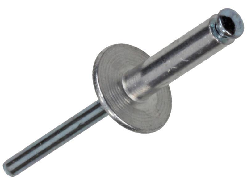 Sam Rivet aveugle 4,8x20 mm aluminium 40 pièces