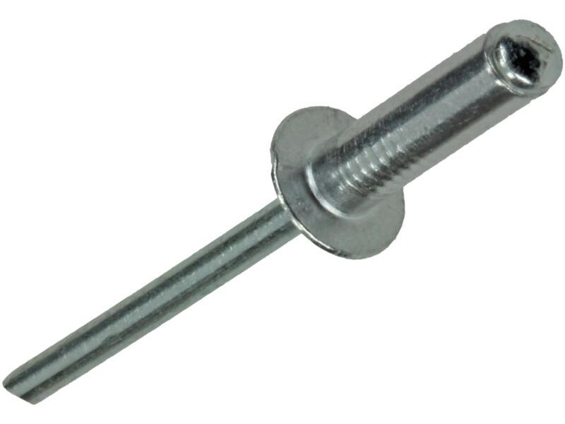 Rapid Rivet aveugle 4x14 mm aluminium 50 pièces