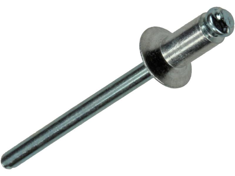 Mack Rivet aveugle 4x8 mm aluminium 110 pièces