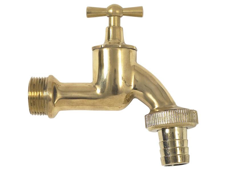 Garantia Robinet pour récupérateur d'eau de pluie en laiton 3/4