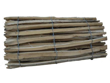 Robinia clôture en lattis 500x120 cm