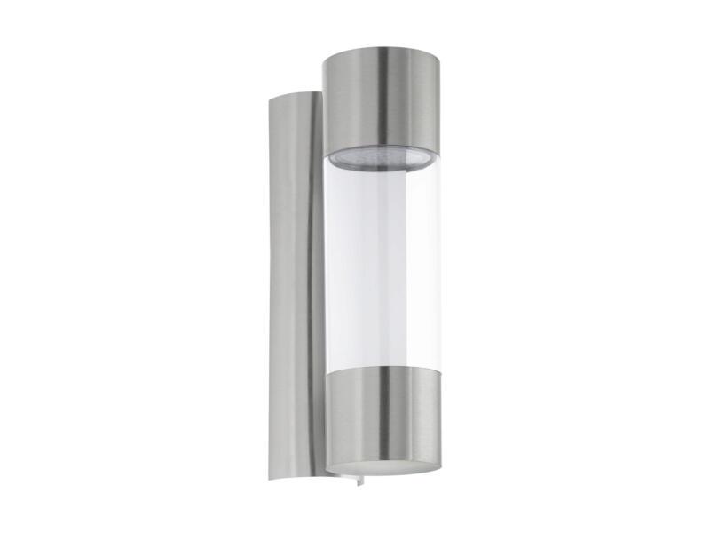 Eglo Robledo LED wandlamp 2x3,7 W staal