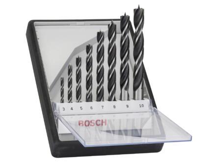 Bosch Professional Robust Line houtborenset 3-10 mm 8-delig