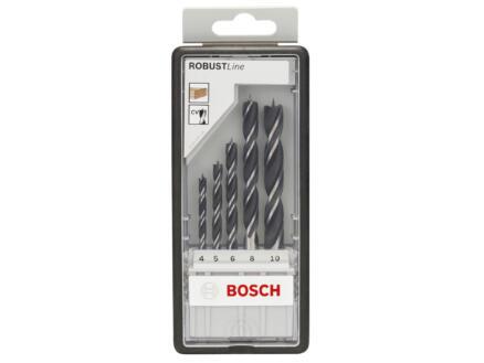 Bosch Professional Robust Line houtborenset 4-10 mm 5-delig