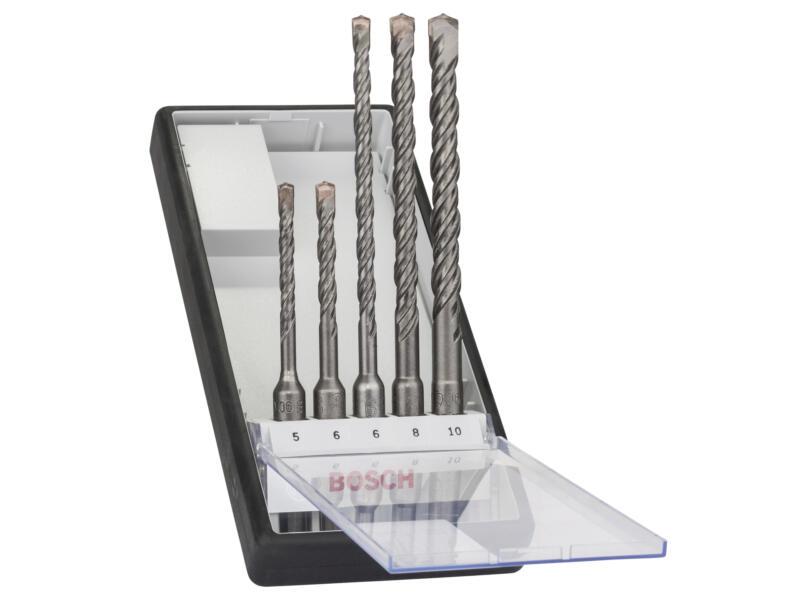 Bosch Professional Robust Line mèches à beton SDS-plus 5 5-10 mm set de 5