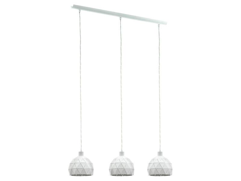 Eglo Roccaforte hanglamp E14 max. 3x40 W wit