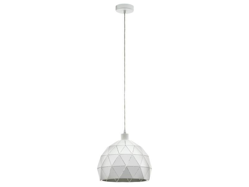 Eglo Roccaforte hanglamp E27 max. 60W 30cm wit