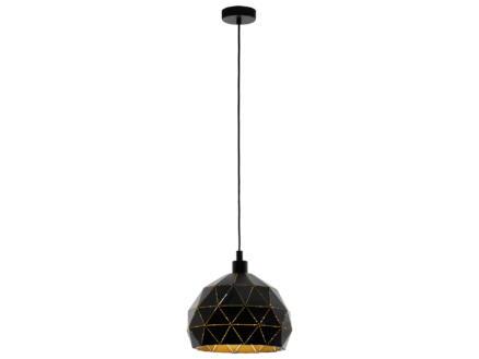 Eglo Roccaforte hanglamp E27 max. 60W 40cm zwart/goud
