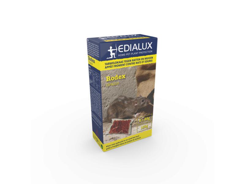 Edialux Rodex granulés anti-rats & anti-souris 150g
